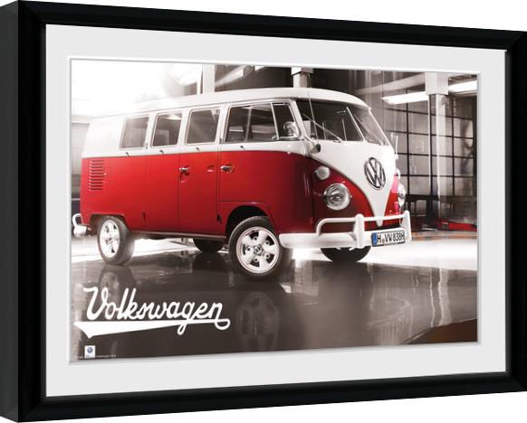 VW Camper - Warehouse Kehystetty juliste