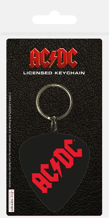 AC/DC - Plectrum Keyring