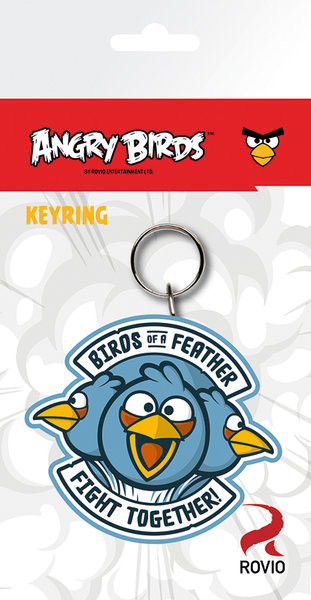 Angry Birds - Blue Keyring