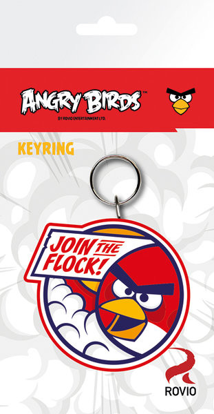 Angry Birds - Red Keyring
