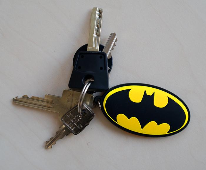 Batman Comic - Logo Keyring