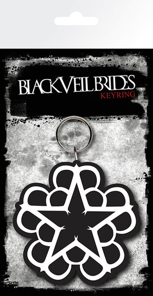 Black Veil Brides - Star Keyring