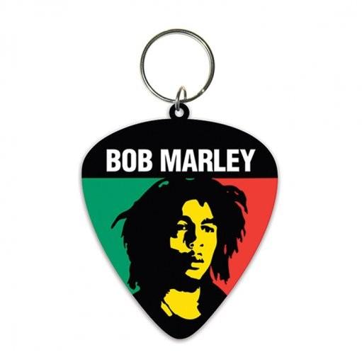 Bob Marley - Colours Keyring