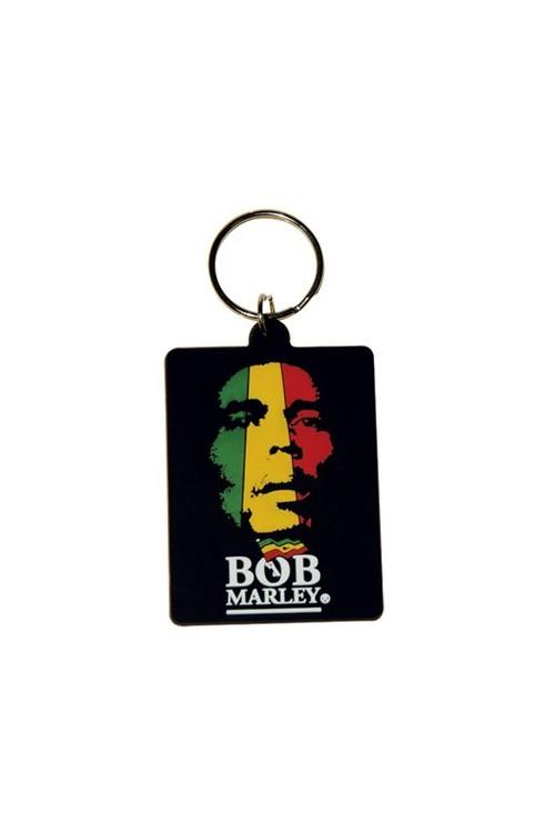 Bob Marley - Face Keyring