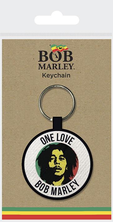 Keychain Bob Marley - one love
