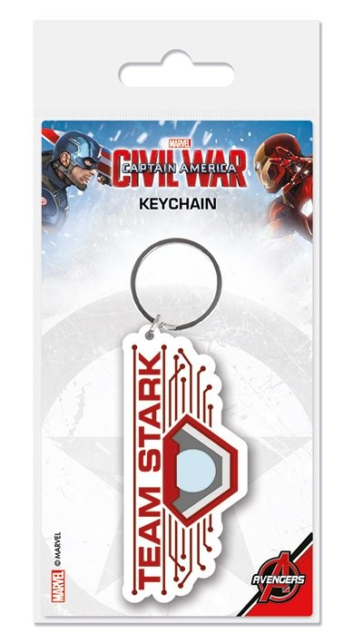 Captain America Civil War - Team Stark Keyring