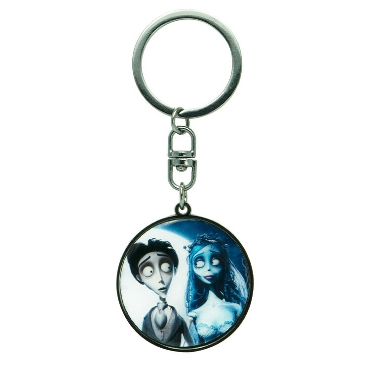Keychain Corpse Bride - Victor & Emily