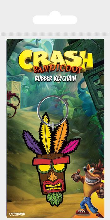 Keychain Crash Bandicoot - Aku Aku