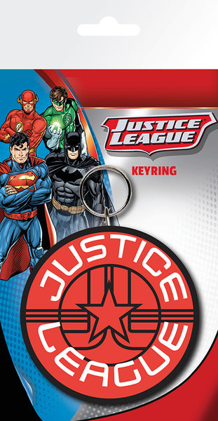 Dc Comics - Justice League Star Keyring