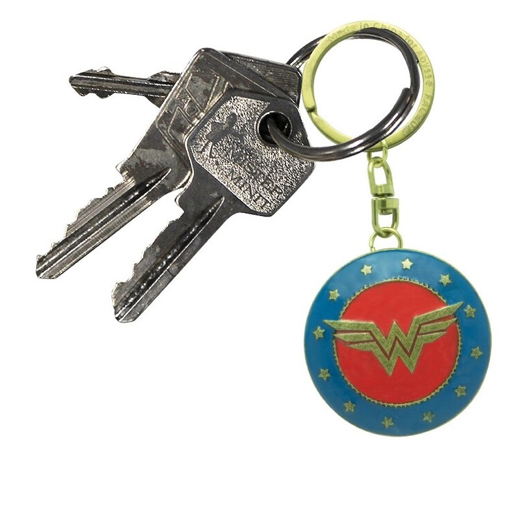 Keychain DC Comics - Shield Wonder Woman