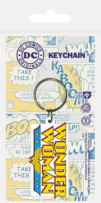DC Comics - Wonder Woman Logo Keyring