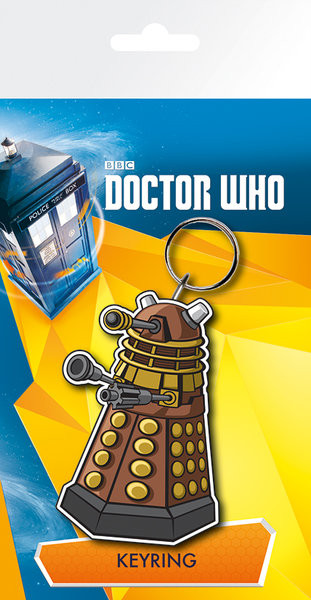 Doctor Who - Dalek Illustration Keyring
