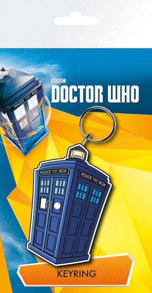 Keychain Doctor Who - Tardis Illustration