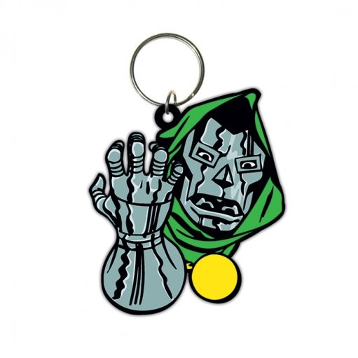 Dr Doom - Face Keyring