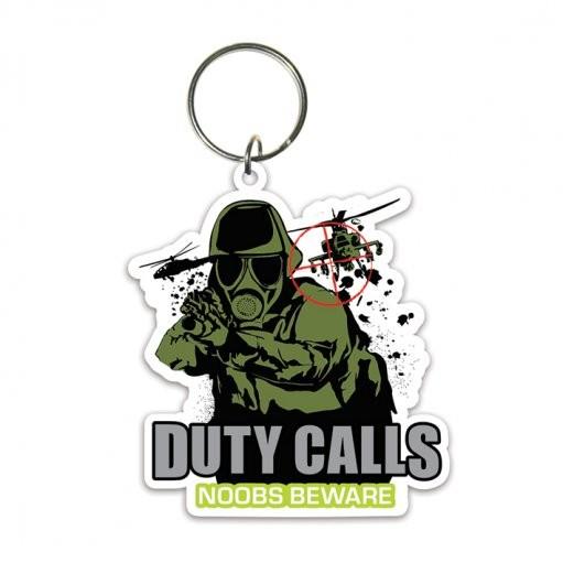 Duty Calls Keyring