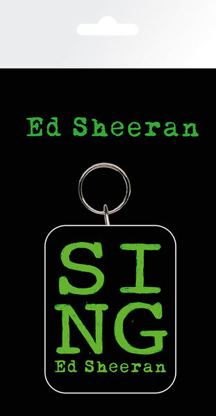 Ed Sheeran - Green Keyring