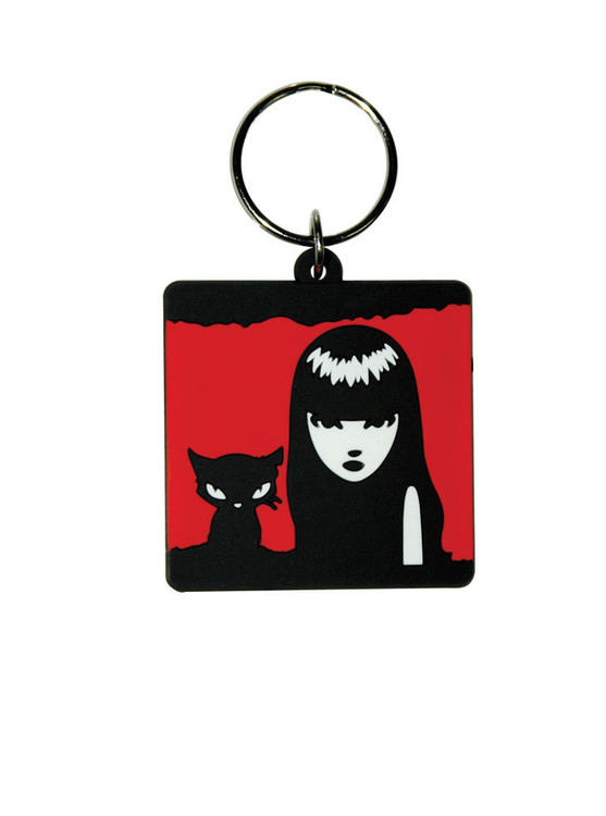 EMILY THE STRANGE - Emily and Sabath Keyring