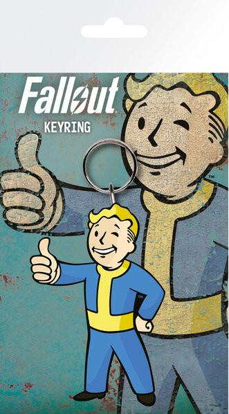 Fallout 4 - Vault Boy Thumbs Up Keyring