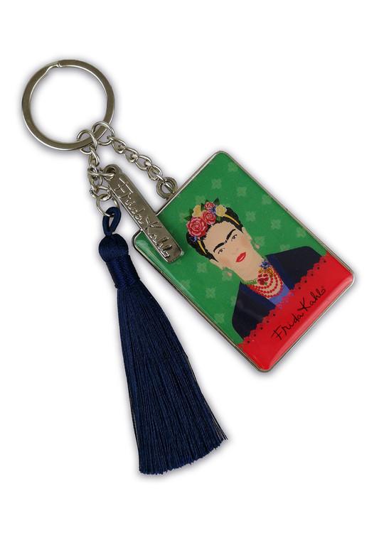 Keychain Frida Kahlo - Green Vogue
