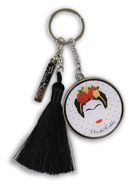 Keychain Frida Kahlo - Minimalist