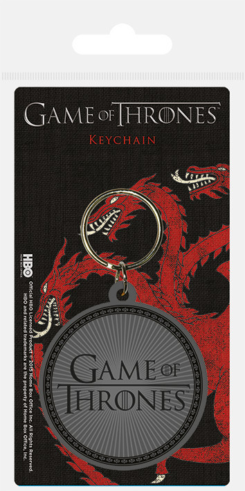 Game Of Thrones - Logo Keyring