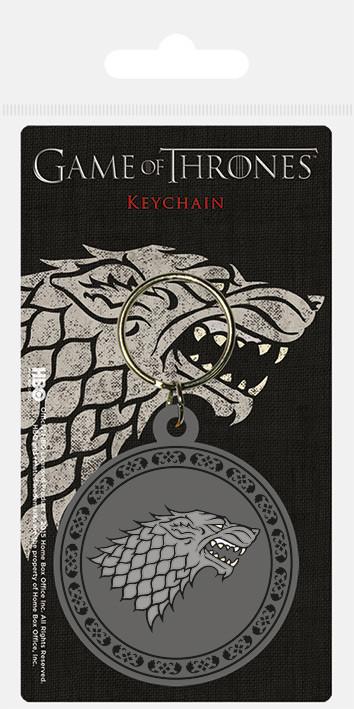 Game Of Thrones - Stark Keyring