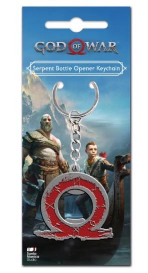 God of War - Serpent Keyring