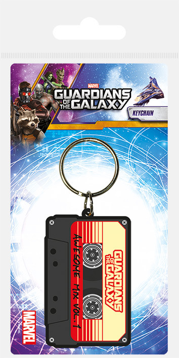 Keychain Guardians Of The Galaxy - Awesome Mix Vol 1