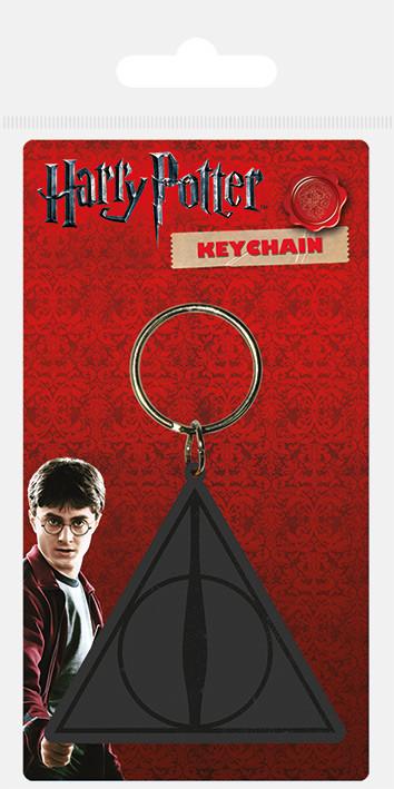 Harry Potter - Deathly Hallows Logo Keyring