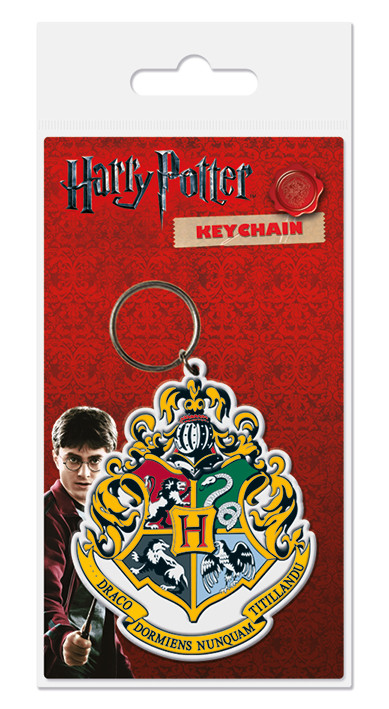 Harry Potter - Hogwarts Crest Keyring