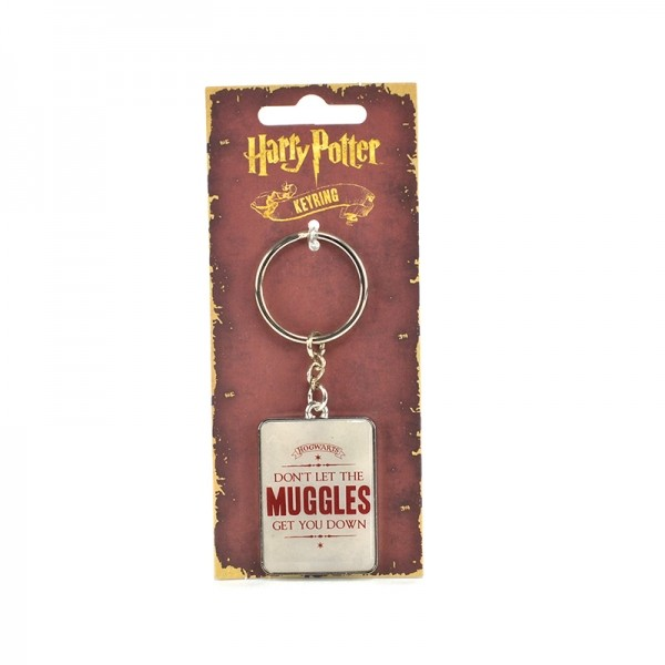 Harry Potter - Muggles Keyring