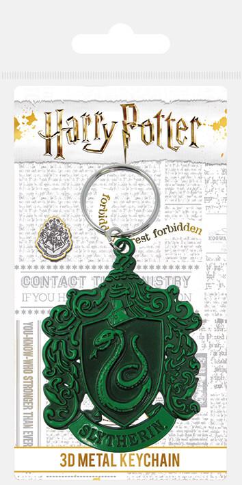 Keychain Harry Potter - Slytherin Crest