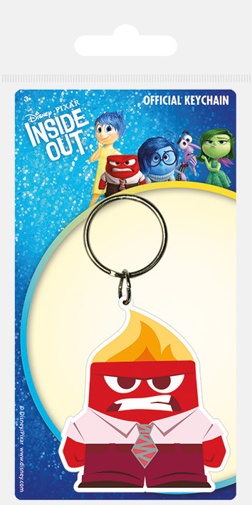 Inside Out - Anger Keyring