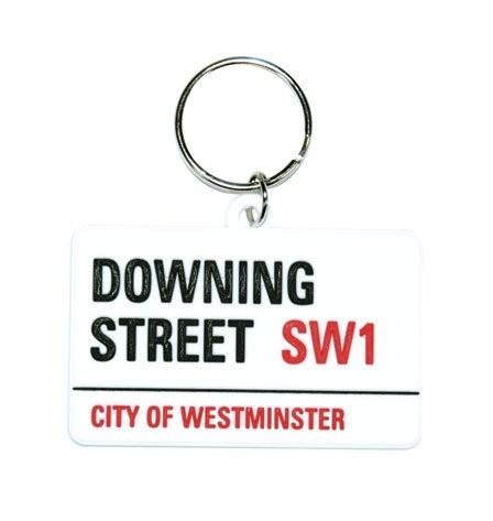 LONDON - downing street Keyring