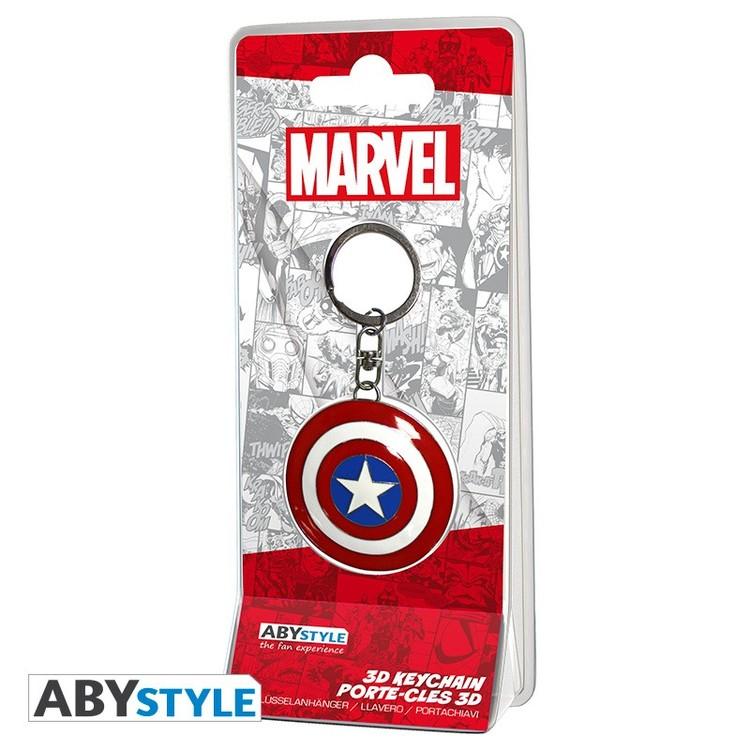 Marvel - Shield Captain America Keyring