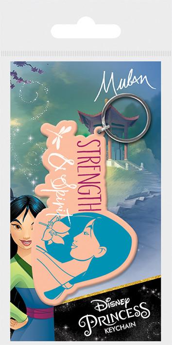 Keychain Mulan - Strength & Spirit