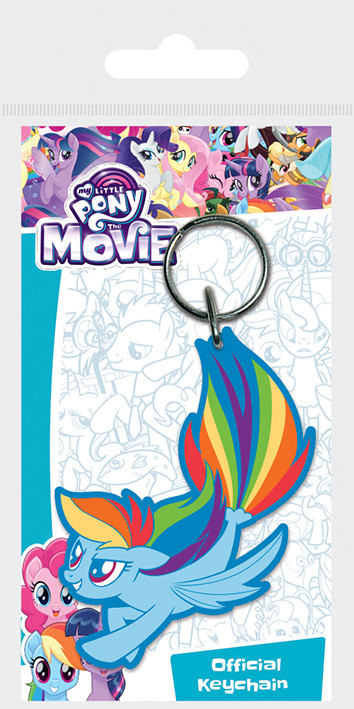 My Little Pony Movie - Rainbow Dash Sea Pony Keyring