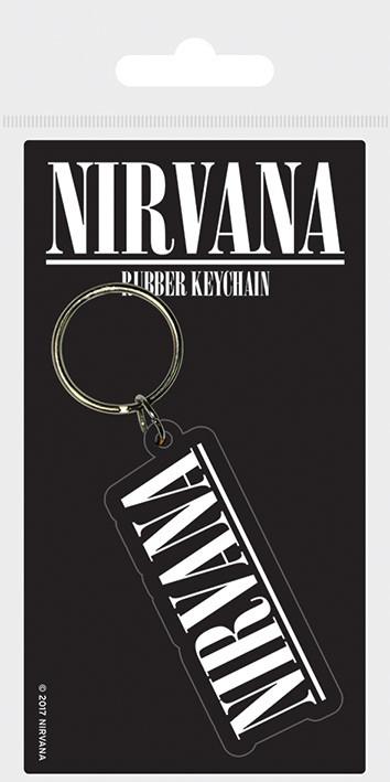 Nirvana - Logo Keyring