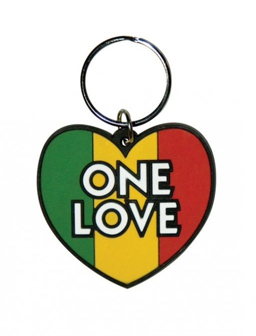 ONE LOVE Keyring