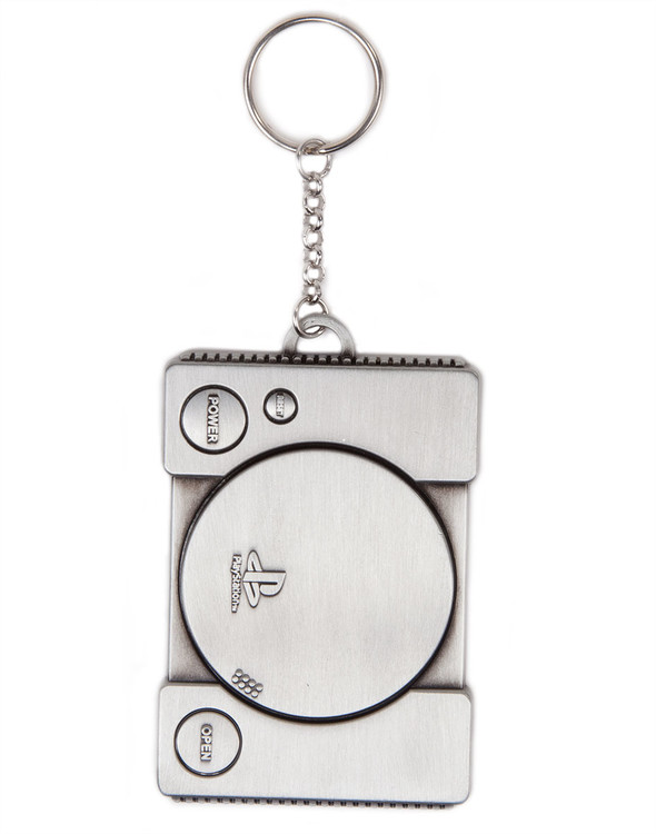 PlayStation - Console Metal Keyring