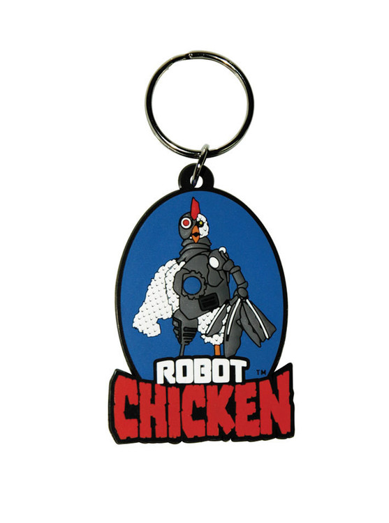 ROBOT CHICKEN Keyring