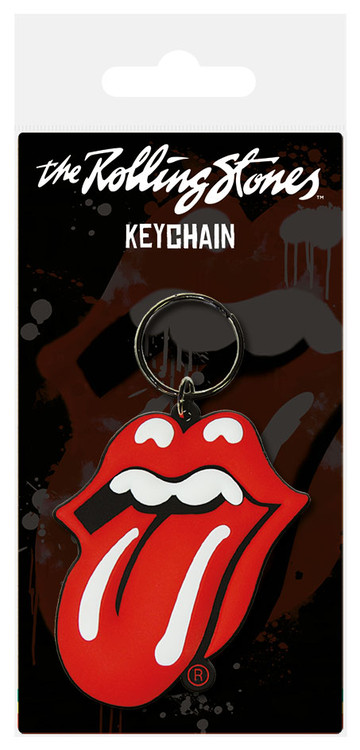 ROLLING STONES - Tongue Keyring