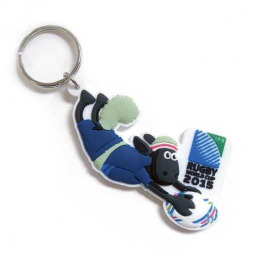 Rugby World Cup - Shaun the Sheep Try Keyring  3eb3aa4d4b31