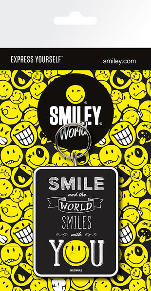 Smiley - Smile Keyring
