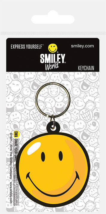 Smiley - World Face Keyring