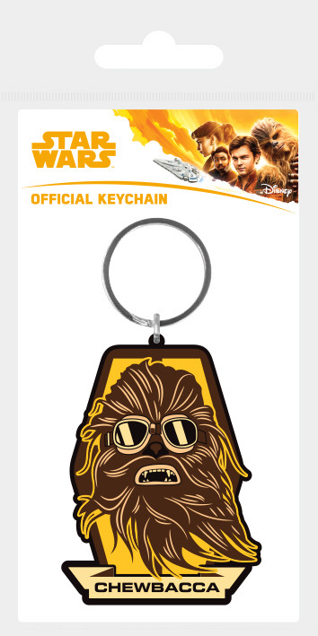 Solo: A Star Wars Story - Chewbacca Badge Keyring