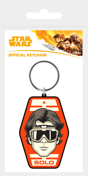 Solo: A Star Wars Story - Solo Badge Keyring