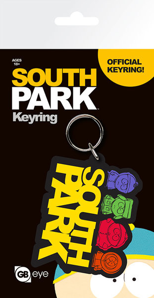 South Park - Logo Keyring