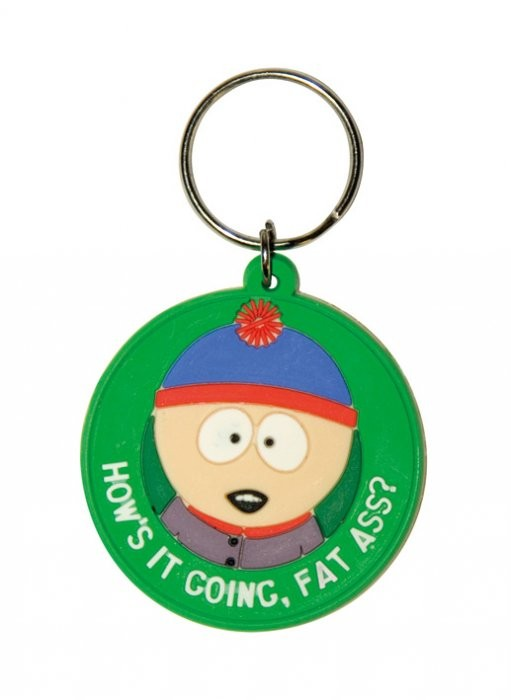 SOUTH PARK - Stan / fat ass Keyring