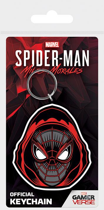 Keychain Spider-Man: Miles Morales - Hooded